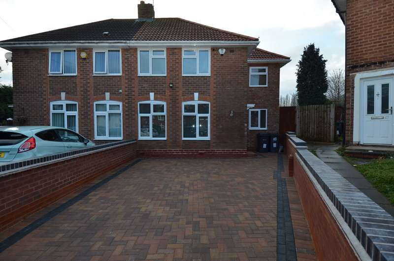 3 Bedrooms Semi Detached House for sale in Effingham Road, Billesley, Birmingham, B13