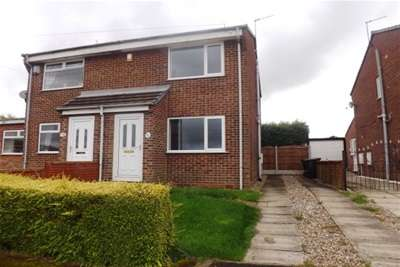 2 Bedrooms Semi Detached House for rent in Redgrave Place, Flanderwell, Rotherham S66