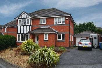 4 Bedrooms Detached House for sale in Dingle Walk, Standish Lower Ground, Wigan, WN6 8ND
