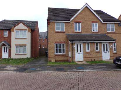3 Bedrooms Semi Detached House for sale in Eagleworks Drive, Walsall, West Midlands