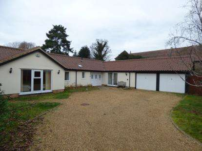 4 Bedrooms Bungalow for sale in Stanton, Bury St Edmunds, Suffolk
