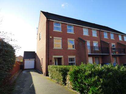 5 Bedrooms End Of Terrace House for sale in Aster Gardens, Littleover, Derby, Derbyshire