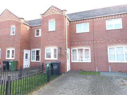 3 Bedrooms Town House for sale in Quorndon Terrace, Quorn, Loughborough, Leicestershire