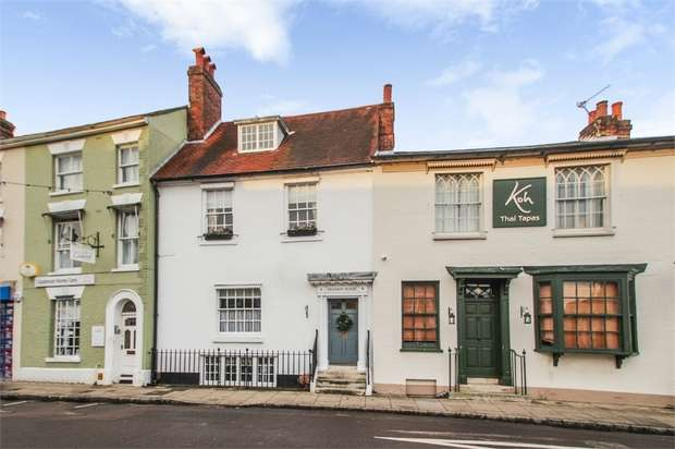 4 Bedrooms Terraced House for sale in The Hundred, Romsey, Hampshire