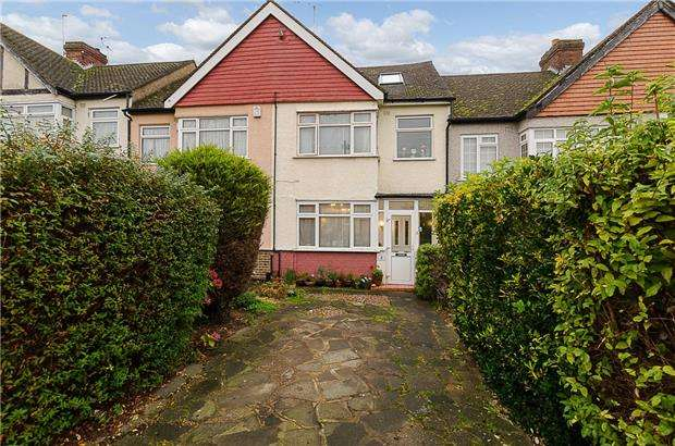 3 Bedrooms Terraced House for sale in Garth Close, MORDEN, Surrey, SM4 4NN