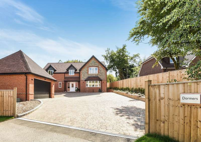 5 Bedrooms Detached House for sale in Horsepond Road, Gallowstree Common, RG4