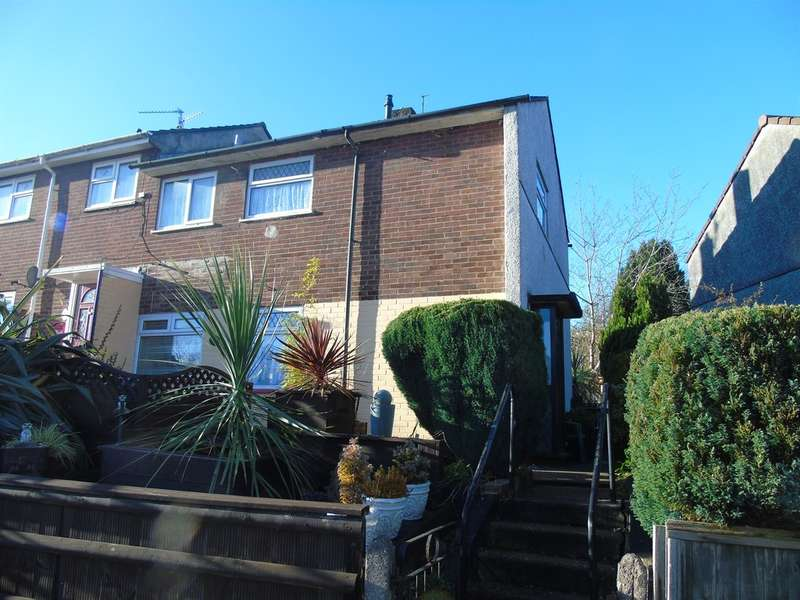 2 Bedrooms End Of Terrace House for sale in Greenwood Avenue, Pontnewydd, Cwmbran