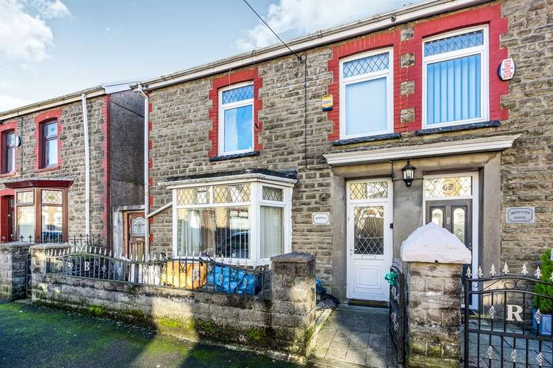 5 Bedrooms Semi Detached House for sale in Treharne Road, Maesteg
