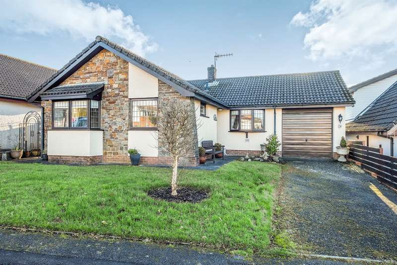 3 Bedrooms Detached Bungalow for sale in Leiros Parc Drive, Bryncoch, Neath