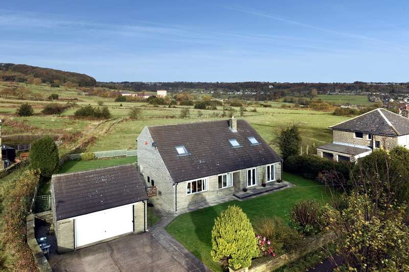 4 Bedrooms Detached House for sale in Bottom of Hollin Hall Lane, Golcar, Huddersfield, HD7