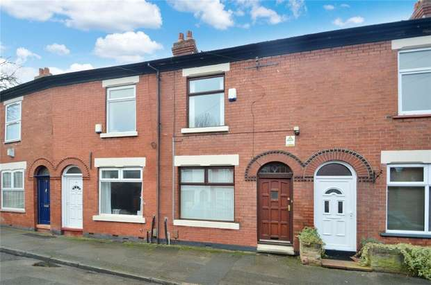 2 Bedrooms Terraced House for sale in Osborne Road, Cale Green, Stockport, Cheshire