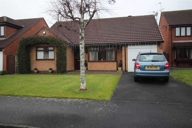 3 Bedrooms Bungalow for sale in Crofters Close, Annitsford, Cramlington