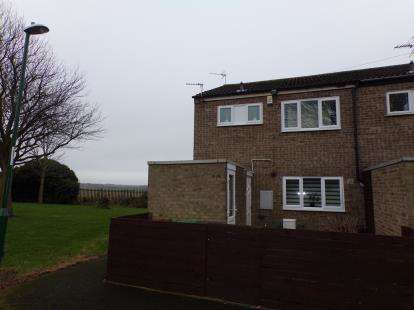 2 Bedrooms End Of Terrace House for sale in Silbury Close, Clifton, Nottingham