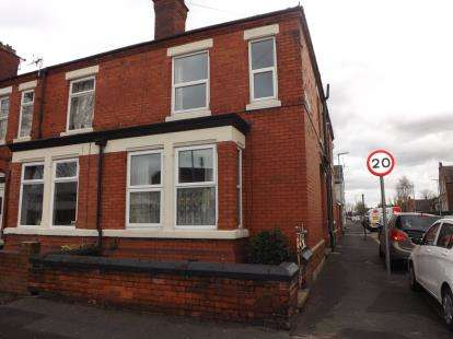 3 Bedrooms End Of Terrace House for sale in Reynolds Street, Warrington, Cheshire