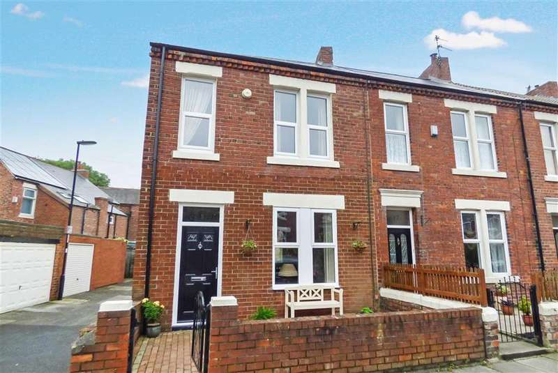 3 Bedrooms Terraced House for sale in Beanley Crescent, Tynemouth