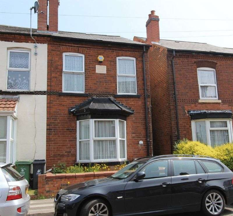 3 Bedrooms Property for sale in Bath Road, Walsall