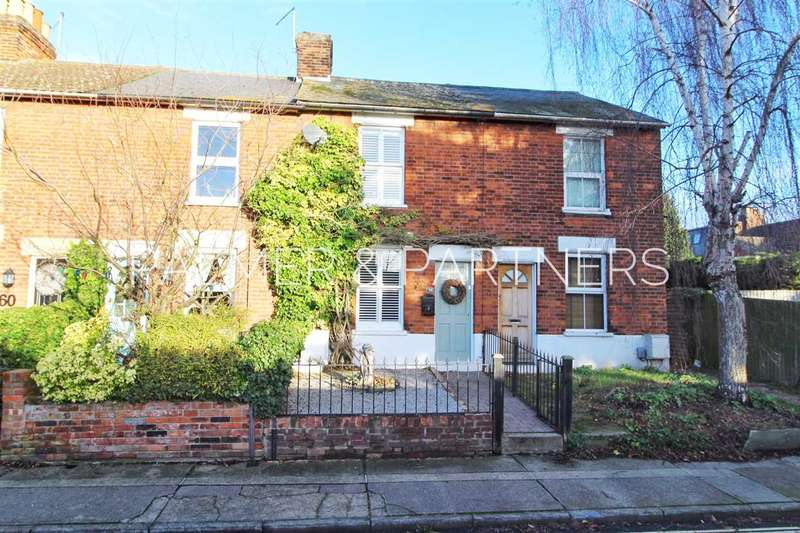 2 Bedrooms Terraced House for sale in Manor Road, St. Mary's, Colchester