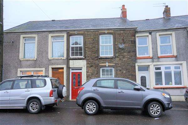2 Bedrooms Terraced House for sale in Cwmgarw Road, BRYNAMMAN, Ammanford