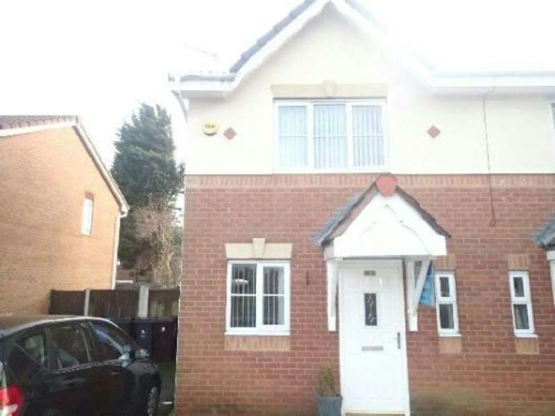 2 Bedrooms Semi Detached House for rent in Palmerston Drive, Liverpool, Merseyside, L25