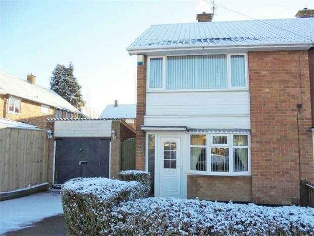 2 Bedrooms Semi Detached House for sale in Deighton Road, Middlesbrough, North Yorkshire