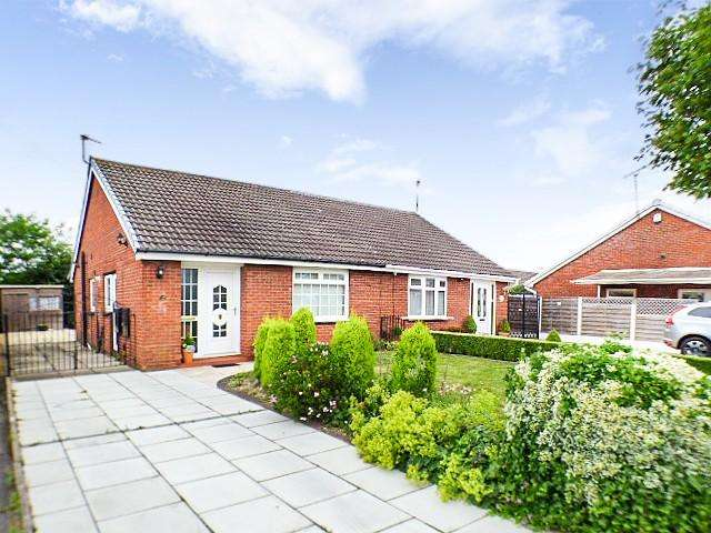 2 Bedrooms Bungalow for sale in Columbine Close, Hough Green, Widnes