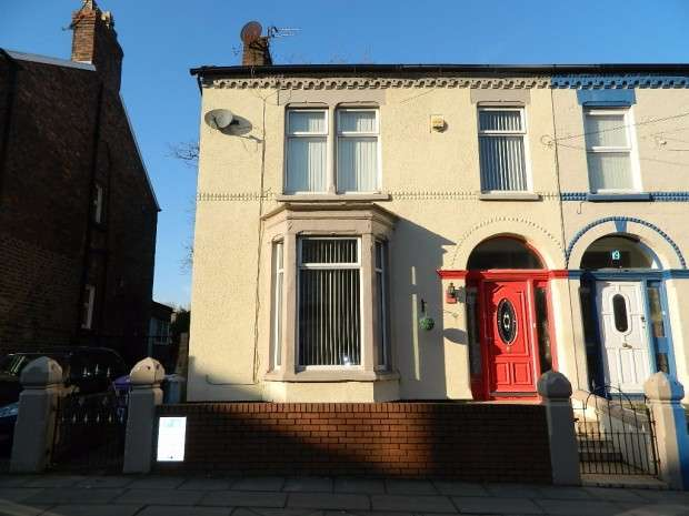 4 Bedrooms Semi Detached House for sale in September Road, Liverpool, L6