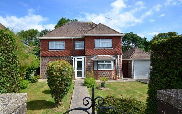 5 Bedrooms Detached House for sale in Downview Avenue, Ferring, West Sussex, BN12 6QW