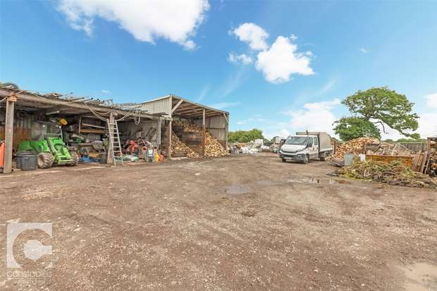 4 Bedrooms Commercial Property for sale in Commercial Yard, Workshops and House, Welsh Road, Ledsham, Ellesmere Port, Cheshire