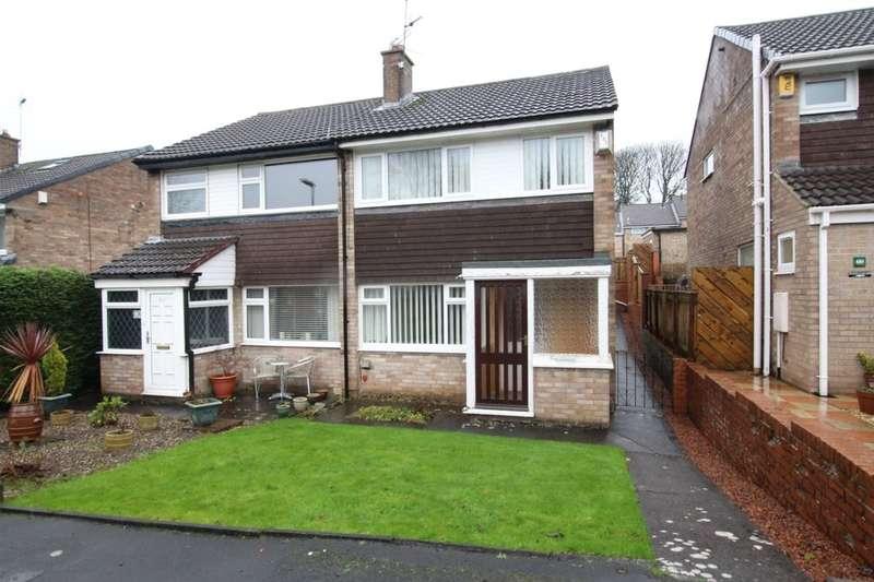 3 Bedrooms Semi Detached House for sale in Briardene, Burnopfield, Newcastle Upon Tyne, NE16