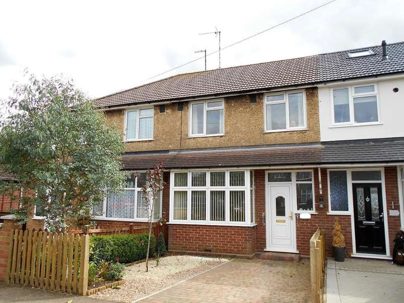 3 Bedrooms Terraced House for sale in Wendover Drive, Bedford, Bedfordshire, MK41 9SS