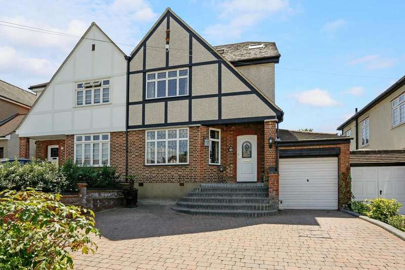 4 Bedrooms Semi Detached House for sale in Waldegrave Gardens, Upminster, Essex, RM14