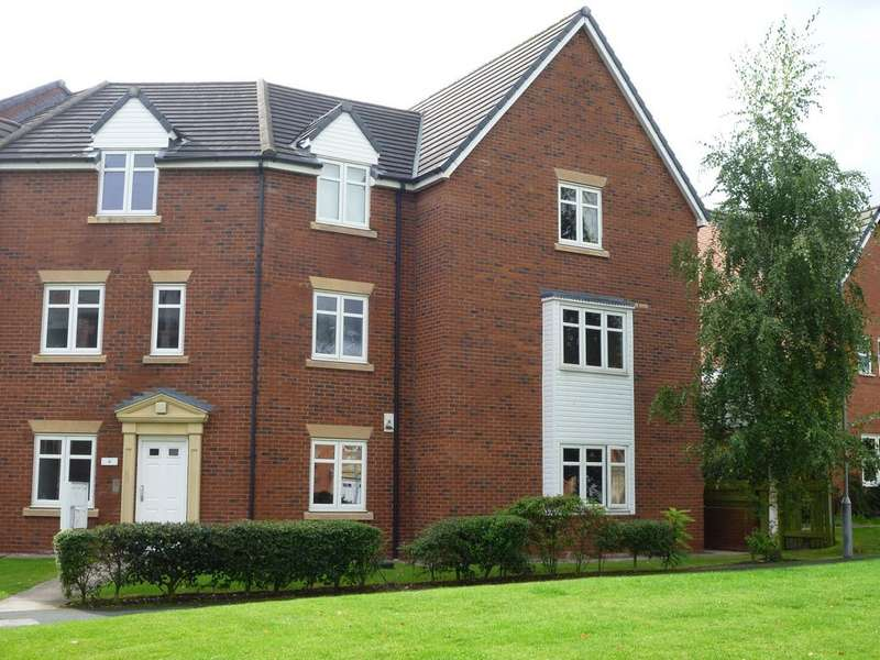 3 Bedrooms Apartment Flat for sale in Byron Walk, Kingsley Village CW5