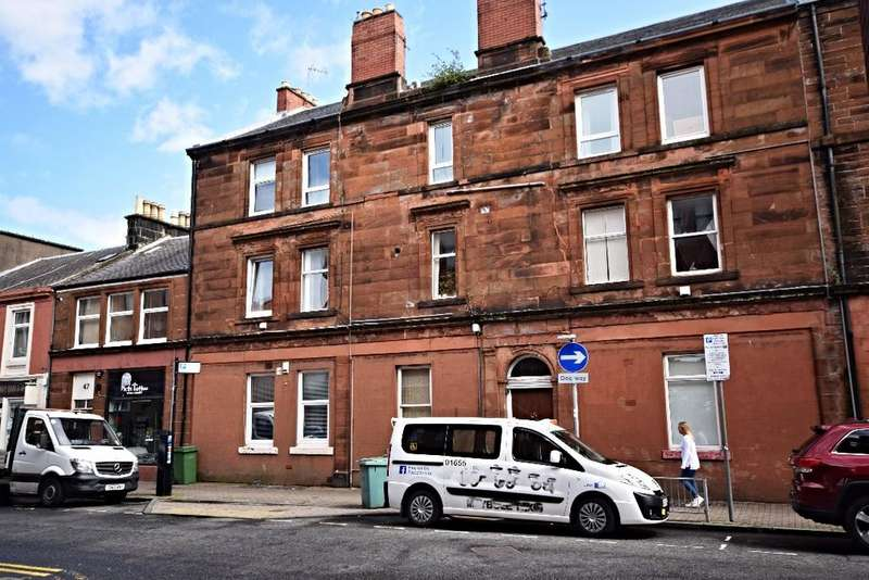 1 Bedroom Flat for sale in Kyle Street, Flat D, Ayr, South Ayrshire, KA7 1RS