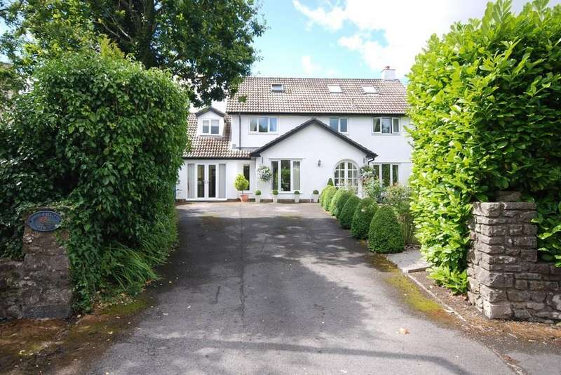 5 Bedrooms Detached House for sale in St Quentins Close, Llanblethian, Cowbridge, Vale of Glamorgan, CF71 7EZ