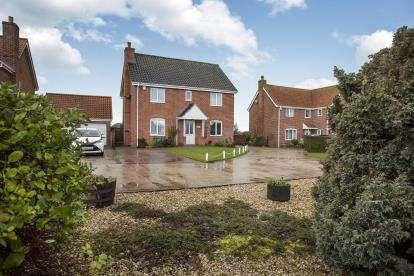 4 Bedrooms Detached House for sale in Tibenham, Norwich, Norfolk