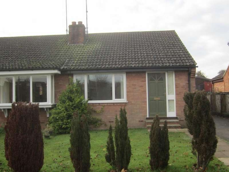 2 Bedrooms Semi Detached Bungalow for sale in Millway, Ampleforth YO62
