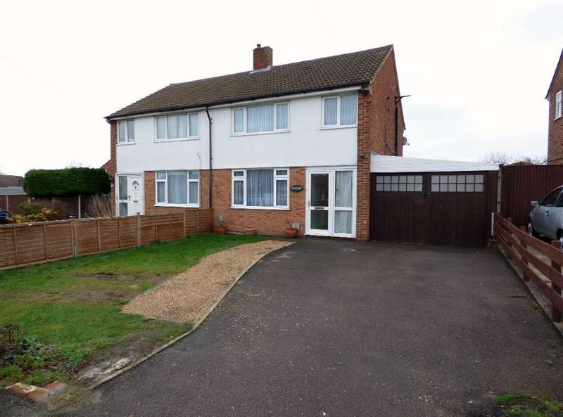 3 Bedrooms Semi Detached House for sale in Poplar Avenue, Bedford, Bedfordshire, MK41 8BP