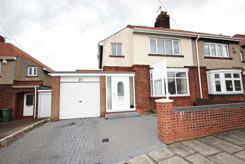 3 Bedrooms Semi Detached House for sale in South Drive, Hartlepool