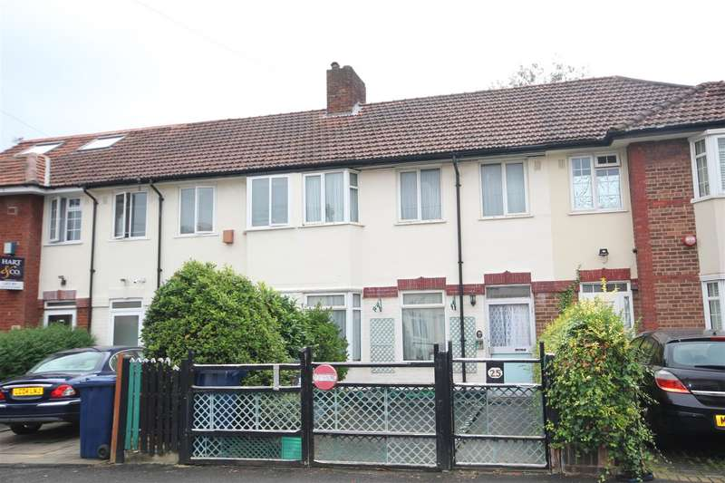 3 Bedrooms Terraced House for sale in Sunningdale Avenue, London W3