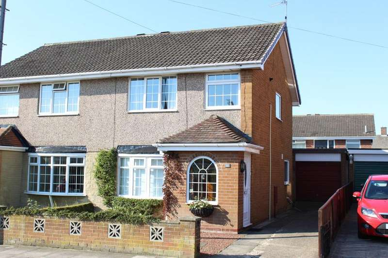 3 Bedrooms Semi Detached House for sale in Dovedale Road, Norton, TS20