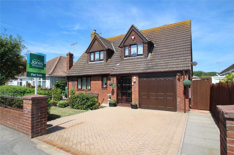 3 Bedrooms Detached House for sale in Brighton Road, Lancing, West Sussex, BN15