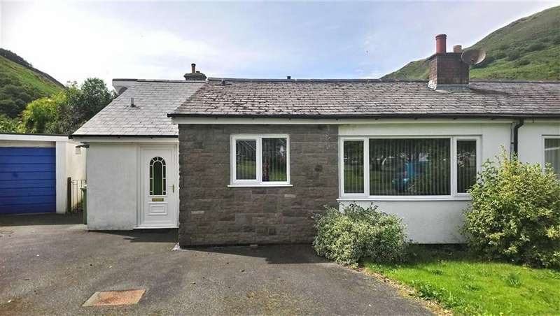 3 Bedrooms Semi Detached Bungalow for sale in 3, Bron Y Gader, Abergynolwyn, Gwynedd, LL36