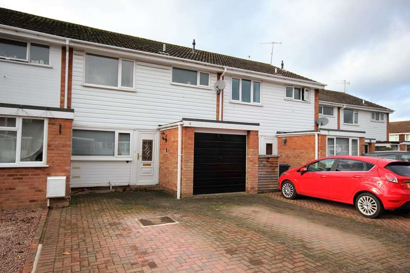 2 Bedrooms Terraced House for sale in Chalfont Close, Worcester, WR3