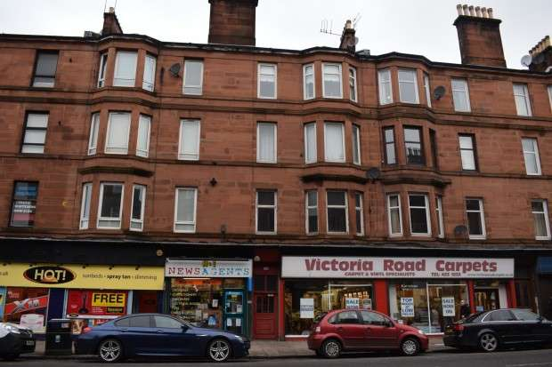 1 Bedroom Flat for sale in 342 Victoria Road, Flat 1/1, Glasgow,, G42