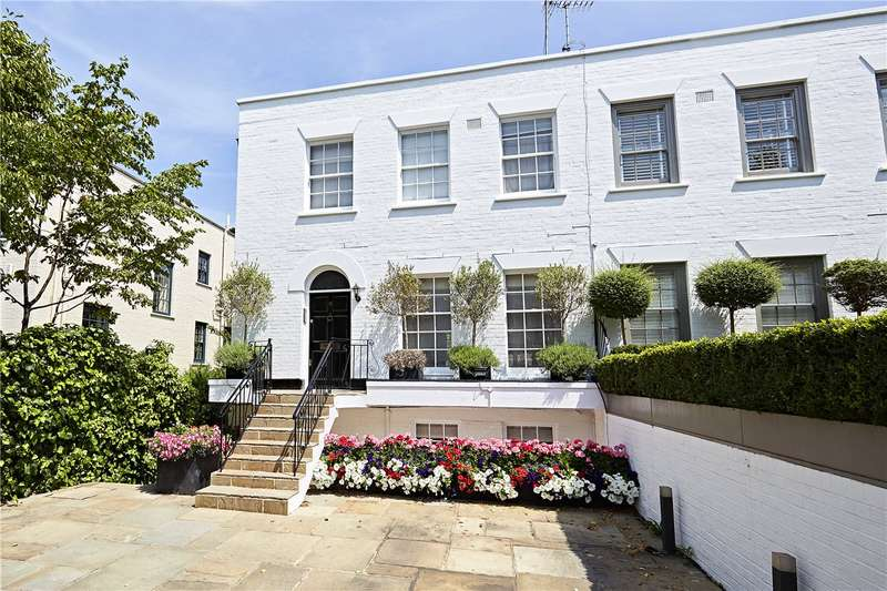 4 Bedrooms Semi Detached House for sale in Pembroke Gardens, Kensington, London, W8