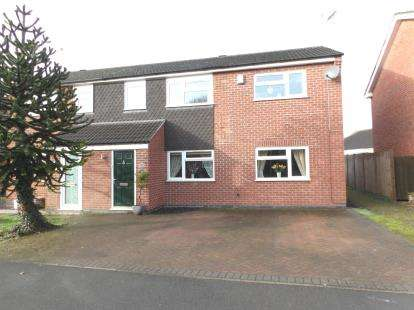 4 Bedrooms Semi Detached House for sale in Breachfield Road, Barrow Upon Soar, Loughborough, Leicestershire