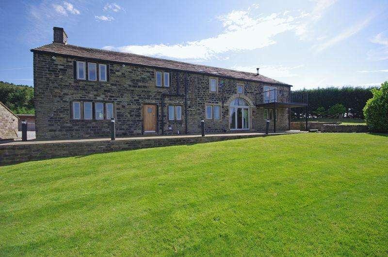 5 Bedrooms Detached House for sale in Cockpit Farm, Cockpit Lane, Barkisland