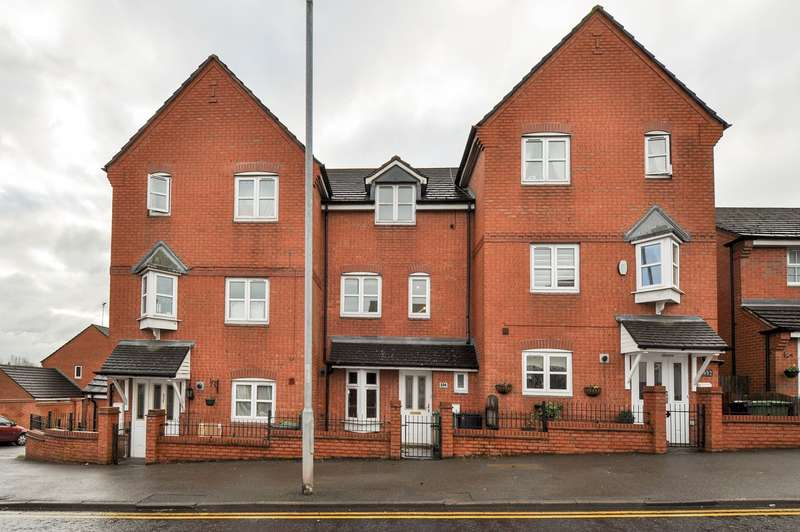 4 Bedrooms Town House for sale in Evesham Road, Redditch, B97