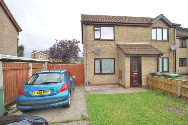 2 Bedrooms Semi Detached House for sale in SUNNINGDALE DRIVE, IMMINGHAM