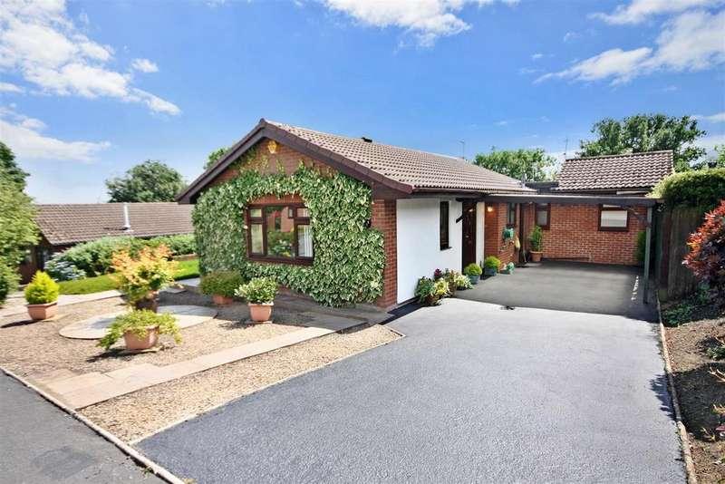 3 Bedrooms Detached Bungalow for sale in Breidden Close, Oswestry